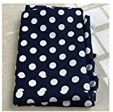 Polka-dot Cotton Fabric, Large Polka-dot Plain Fabric, Baby Underwear Cloth, Handmade DIY Fabric for...
