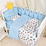 Baby bedding crib quilt detachable washable pillow sheet bed sheet pillow