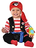 Baby Boys Buccaneer Pirate Halloween World Book Day Week Fancy Dress Costume With Rattle (12-24...