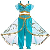 Atorcher Princess Costume for Girls Sequined Princess Costume Set Dress Up for Kids (5-6 Years,...