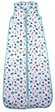 Slumbersac Summer Kid Sleeping Bag 0.2 Tog - Bamboo Muslin Nautical - 6-10 years/150cm