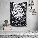 N\A Hippie Hippy Abstract Wall Hanging Throw Tapestries, Bohemian Mandala Bedding Tapestry for...