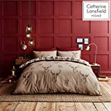 Catherine Lansfield Stag Easy Care Double Duvet Set Multi