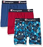 Champion Men's Athletics Everyday Active Lightweight/Breathable Collection Boxer Brief, Regal...
