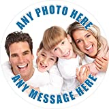 Your Very Own Photo Cake Topper 7.5' Inch Personalised Edible on Icing Sheet with HIGH Resolution...