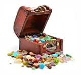 Pirates Treasure Chest - Crammed with Gemstones, Pearls and Jewels! PACK OF 2