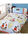 Rapport 'Treasure Quest' Pirate Single Duvet Cover and Pillowcase Set