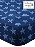 Catherine Lansfield Stars and Stripes Double Fitted Sheet Multi