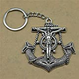 Zbzmm Keychain Accessories Keychains for Women Jesus Anchors Wedding Favors and Gifts for Women...
