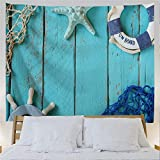 Colorful Star Tapestry Wall Hanging Polyester Wall Blanket Bedding Tapestry Home Decorations for...