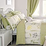 Botanique - Easy Care Duvet Cover Set - Double, Green