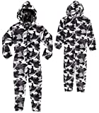 CityComfort Kids Onesie, All in One Pyjamas, Fleece Zip Up Jumpsuit Kids and Teenagers, Super Soft...