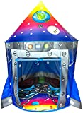 Rocket Ship Play Tent Playhouse | Unique Space and Planet Design for Indoor and Outdoor Fun,...