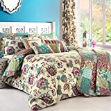 Dreams & Drapes - Marinelli - Easy Care Duvet Cover Set | King Size | Teal Bedding