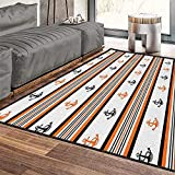 Philip C. Williams Anchor Contemporary Indoor Area Rugs,Simplistic Summer Season Pattern with...