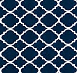 Baby Doll Bedding Soho Fitted Crib Sheet, Navy