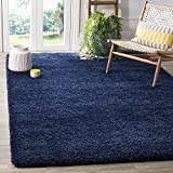 BRAVICH RugMasters NAVY BLUE Extra Large Rug 5 cm Thick Shag Pile Soft Shaggy Area Rugs Modern...