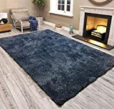 Modern Style Rugs Living Room Rug - Washable With a Felt Back Heavy Duty Suitable For Bedrooms and...