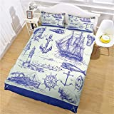 ZPOEQW Super King Size Duvet Cover Set With 2 Pillowcases 3 Pcs Ultra Soft Easy Care Microfiber...