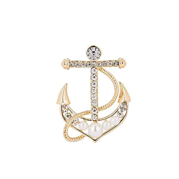 Anchor Brooches
