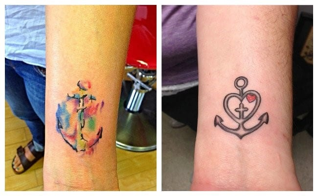 Wrist Anchor Tattoo