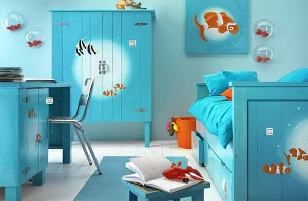 Finding Nemo Vinyl Bedroom