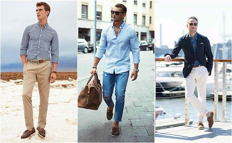 how to wear nautical shoes