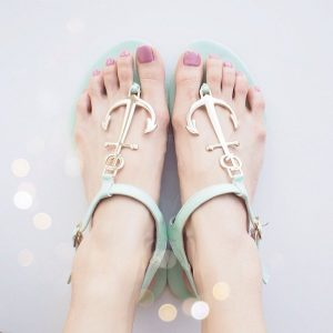 Nautical Anchor Sandals