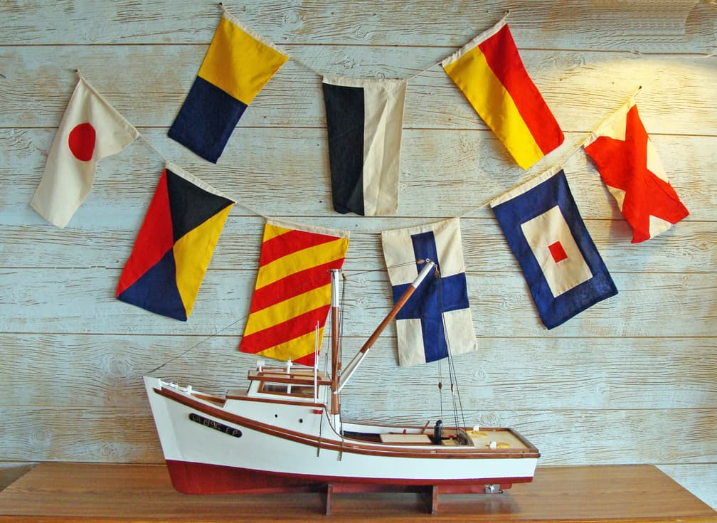 Nautical Flags Decor