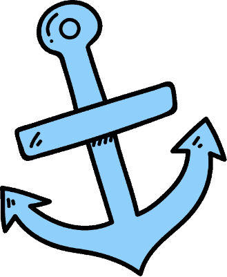 Wooden Anchor Drawing