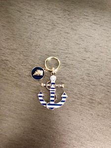 Anchor Away Keychain