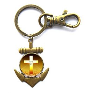 Anchor Keychain For Men