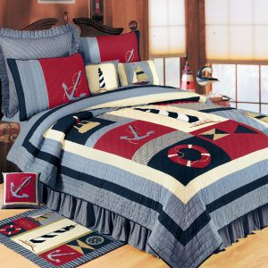Atlantic Isle Nautical Bedding