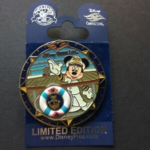 Captain Mickey Anchor Keychain