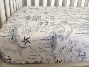 Fitted Crib Bedding Nautical