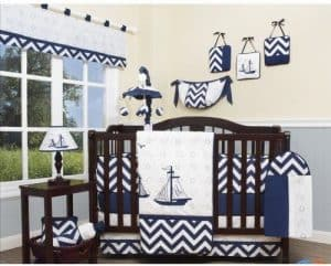 Geenny Coastal Nautical Bedding
