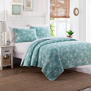 Green Nautical Star Bedding