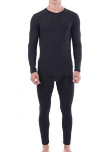 Mens Navy Blue Thermal Underwear