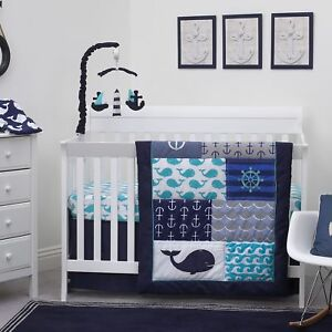 Nautica Nautical Crib Bedding