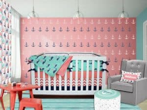 Nautical Baby Bedding For Girl