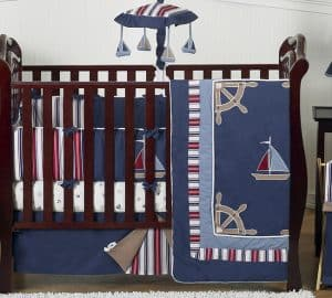 Nautical Baby Boy Bedding Set