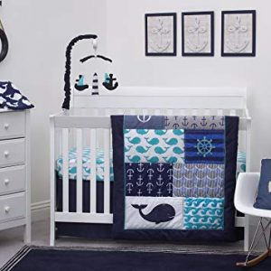 Nautical Baby Crib Bedding Set