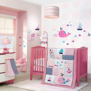 Nautical Baby Girl Bedding