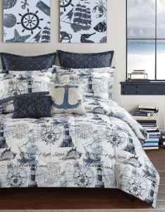 Nautical Bedding Anchor Retreat