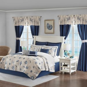 Nautical Bedding And Window Treatments