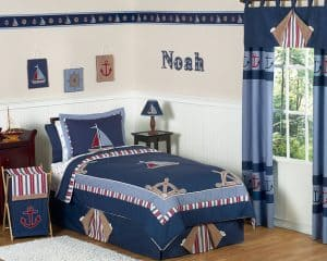 Nautical Bedding For Boat