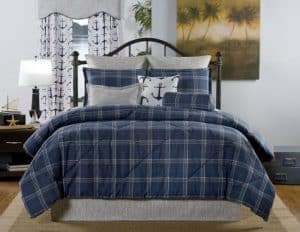 Nautical Bedding For Men Grey