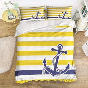 Nautical Bedding Yellow