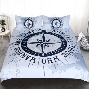 Nautical Compass Bedding