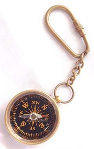 Nautical Compass Keychain